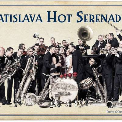 Milan Lasica & Bratislava Hot Serenaders—the most wanted time travel machine in the country