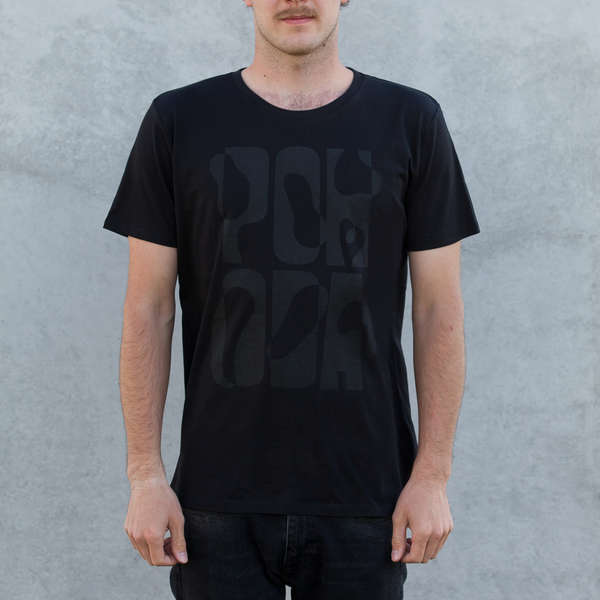Black T-shirt Pohoda black