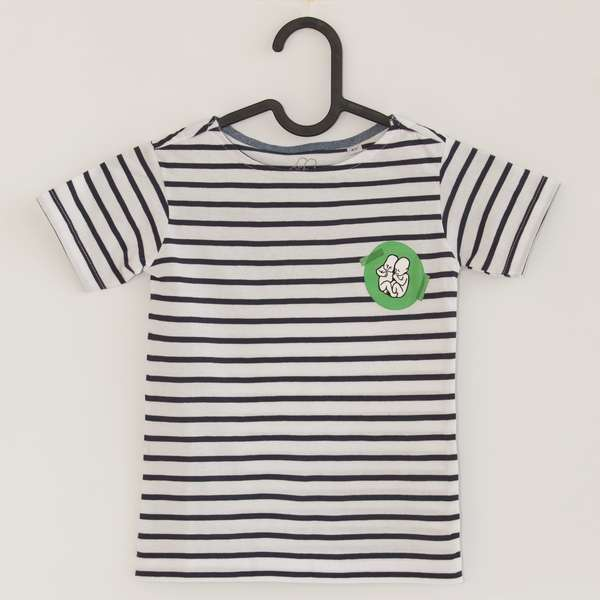 Kids T-shirt blue Stripes